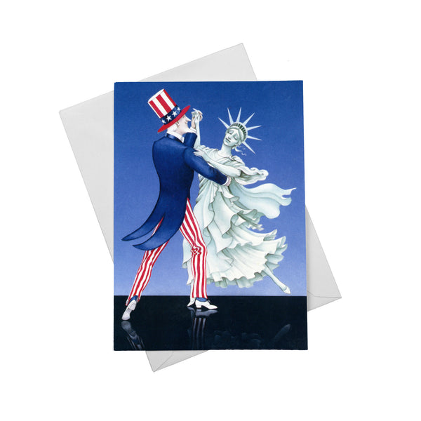 Liberty Dancing With Uncle Sam