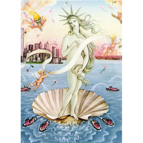 The Birth Of Lady Liberty