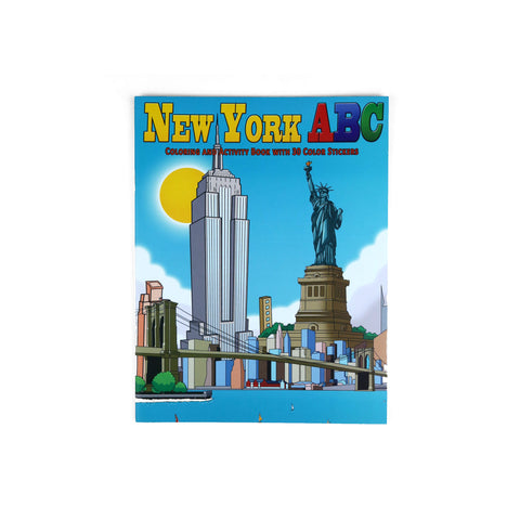 New York ABC Coloring Book