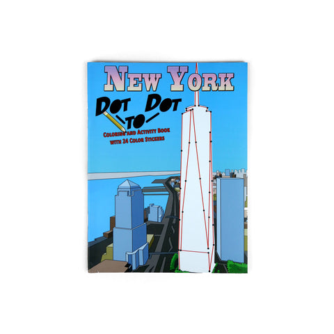 New York Dot to Dot Coloring Book
