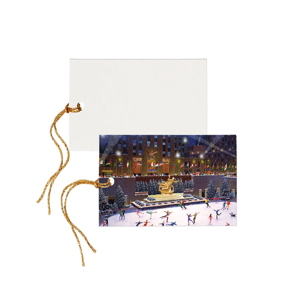 The Magic of NY In Winter - Gift Tag