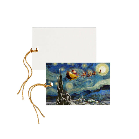 Santa's Night - Gift Tag