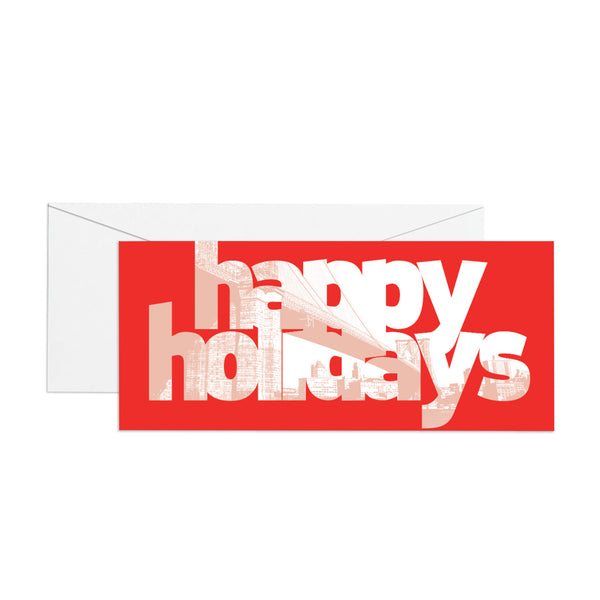 Happy Holidays - Money Holder
