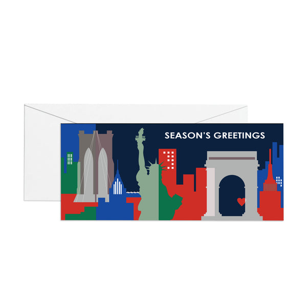 Season's Greetings- Money Holder