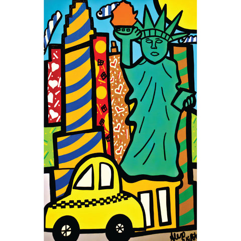 Liberty Pop Art - Playing Cards