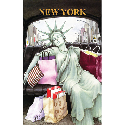 Liberty Taxi - Large Notebook