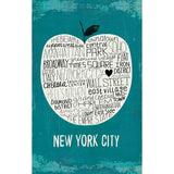 Big Apple NYC - Large Notebook