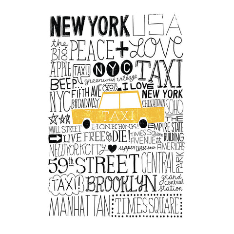 Iconic Taxi - Pocket Journal