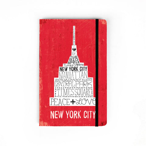Iconic Empire State Building - Large Notebook