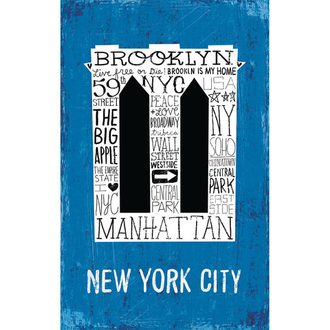 Iconic Brooklyn Bridge - Small Notebook