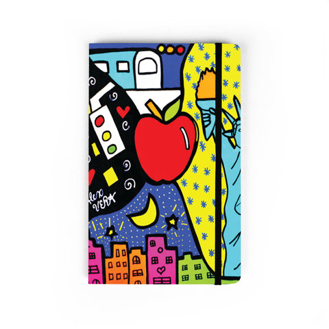 NYC Pop - Large Notebook
