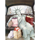 Liberty Taxi - Playing Cards
