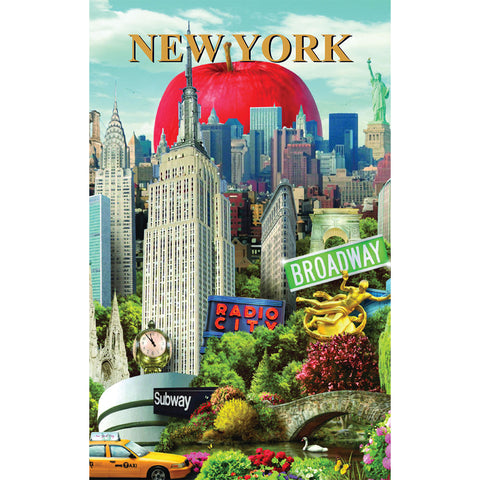NYC Collage - Pocket Journal