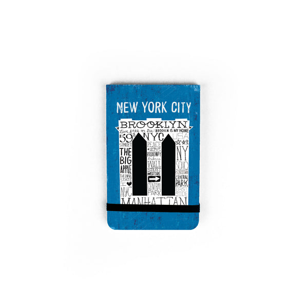 Iconic Brooklyn Bridge - Pocket Journal
