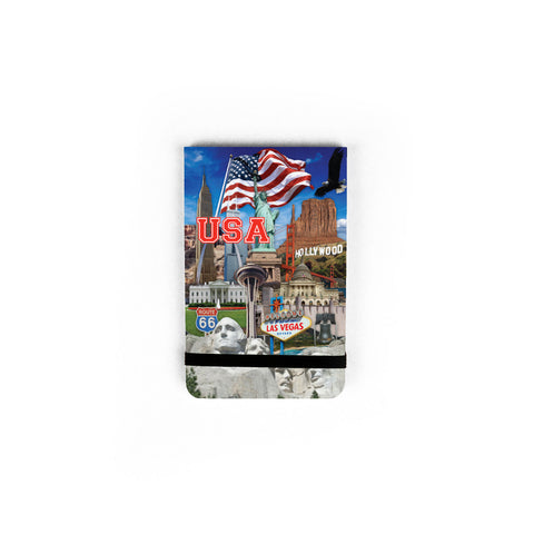 USA Collage - Pocket Journal