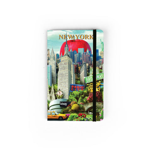 NYC Collage - Small Notebook