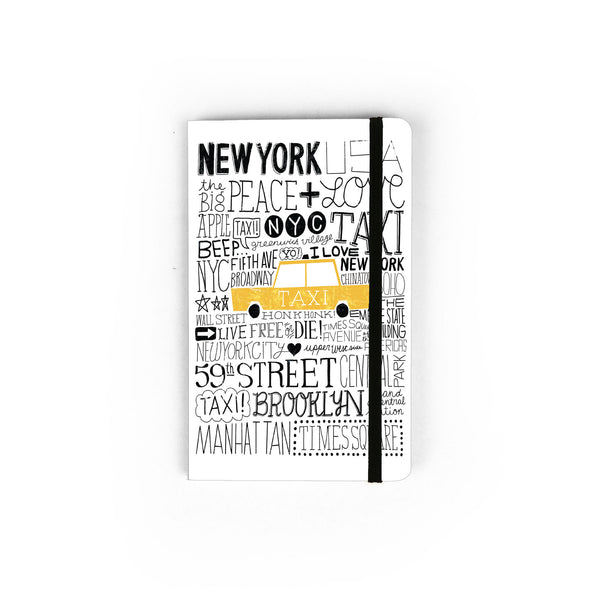 Iconic Taxi - Small Notebook