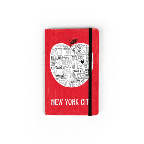 Big Apple NYC RED - Small Notebook
