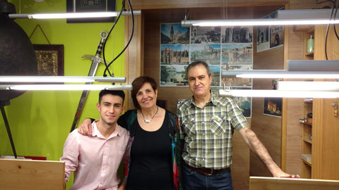 Jose Manuel, Paloma and their son