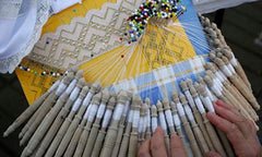 Traditional arts - Hand embroidery and knitting