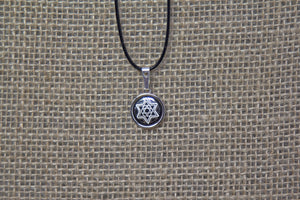 Damascene Silver Pendant - Star of David
