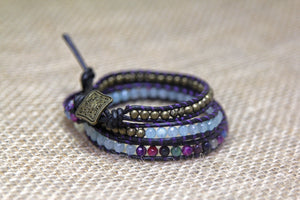 Three Wrap Chanluu Bracelet - Multicolor