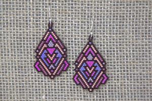 Miyuki Glass Earrings - Multicolor
