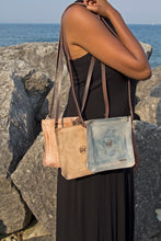 Leather Body Bag - Natural
