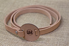 Leather Belt - Brown and Leather