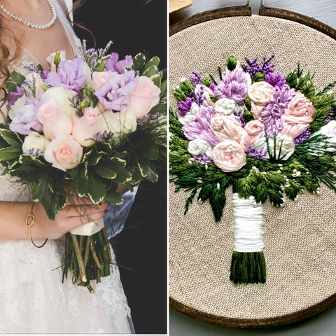Dreamy and Romantic Wedding Bouquet