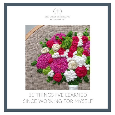 11 things I have learned since working for myself