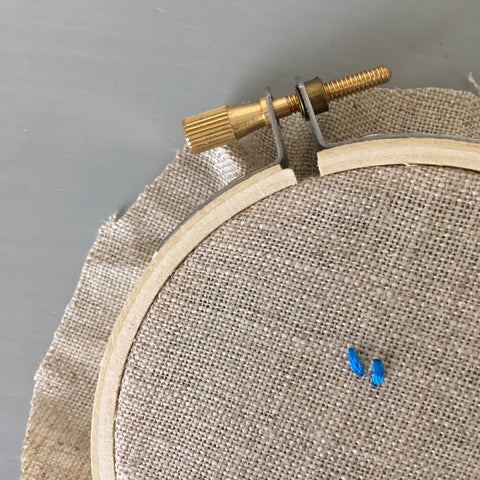 Seed Stitch Hand Embroidery Tutorial by And Other Adventures Embroidery Co