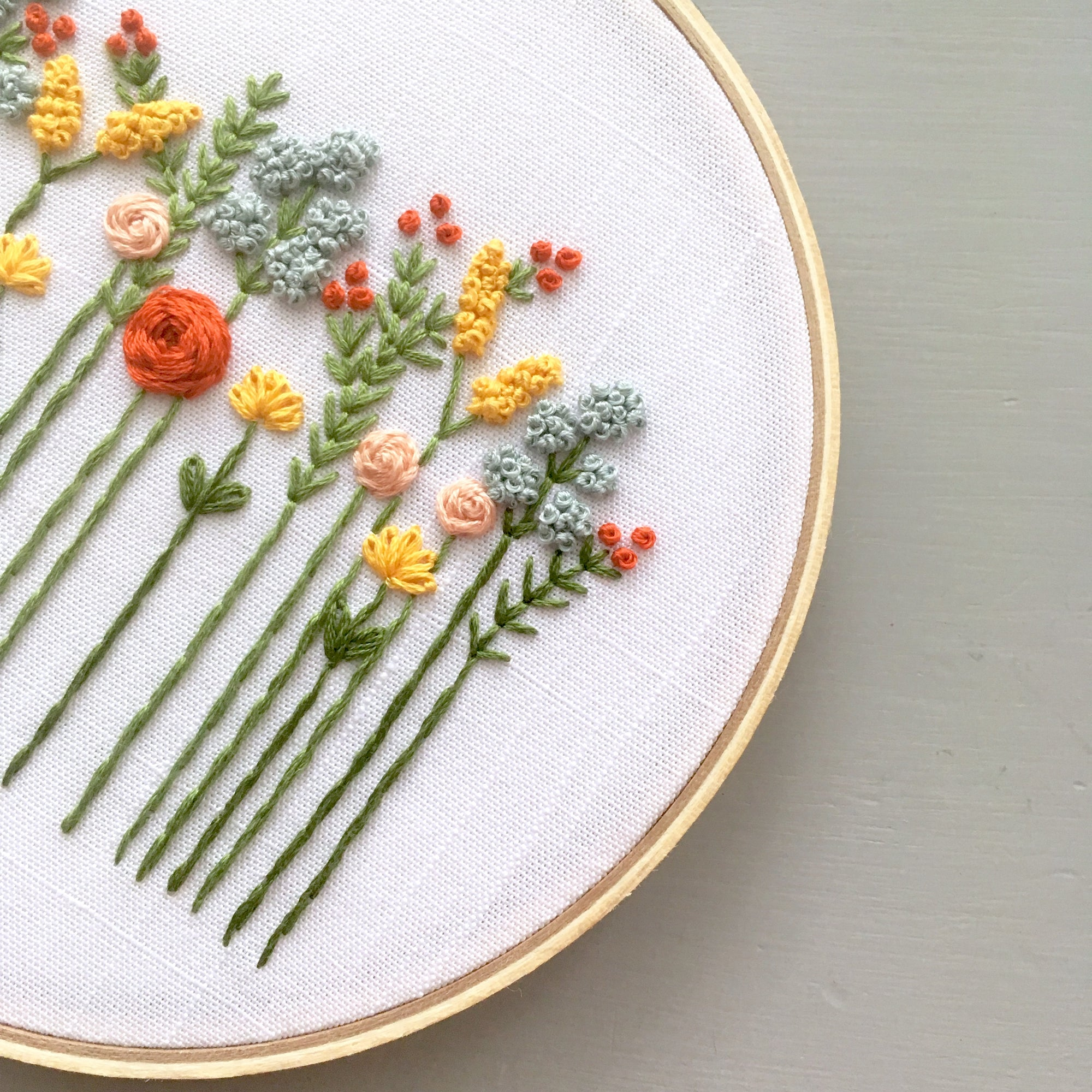 THE WILDFLOWER COLLECTION BY AND OTHER ADVENTURES EMBROIDERY CO