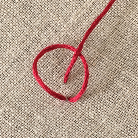 How to do Chain Stitch by And Other Adventures Embroidery Co