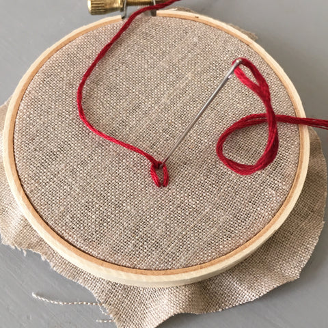 How to embroider Chain Stitch by And Other Adventures Embroidery Co