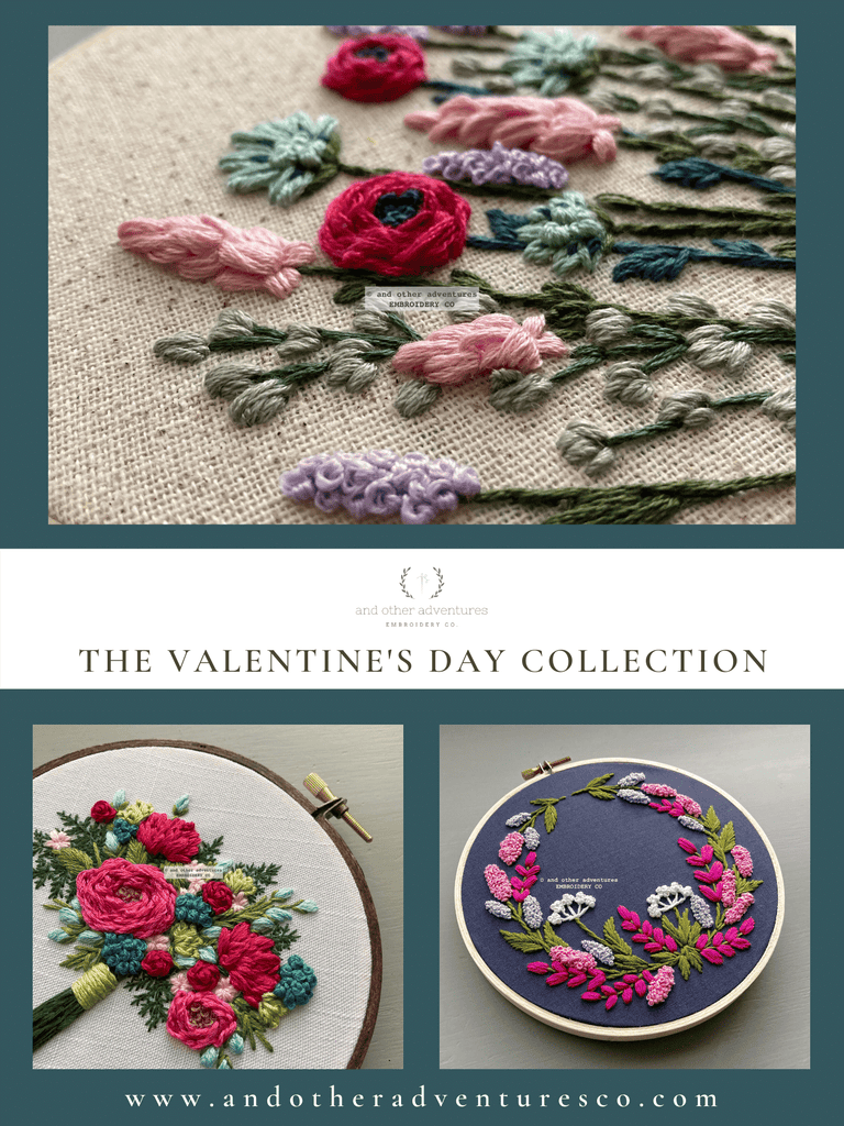 The Valentine's Day Collection is HERE! | And Other Adventures Embroidery Co