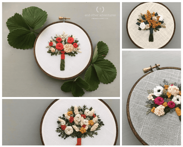 Fall Collection Bouquet Sneak Peek - And Other Adventures Embroidery Co