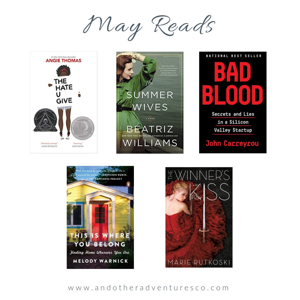 May Book Reads by And Other Adventures Embroidery Co