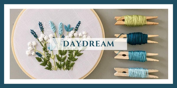 Daydream Collection - Embroidery Kits + Digital Patterns | And Other Adventures Embroidery Co