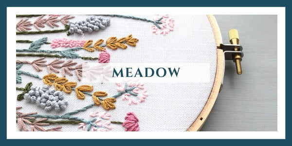 AOA Meadow Collection - Embroidery Kits + Digital Patterns | And Other Adventures Embroidery Co