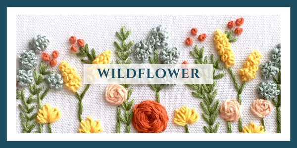 AOA Wildflower Collection - Embroidery Kits + Digital Patterns | And Other Adventures Embroidery Co