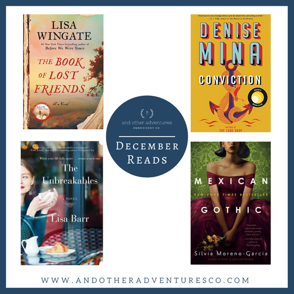 December 2020 Books | And Other Adventures Embroidery Co