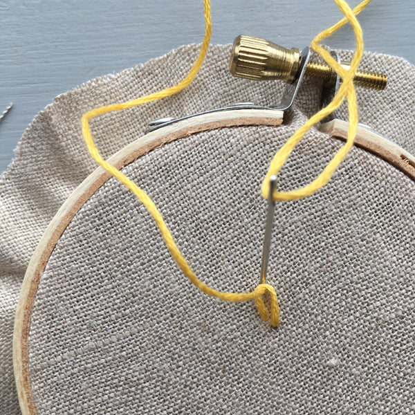 Detached Chain Stitch by And Other Adventures Embroidery Co