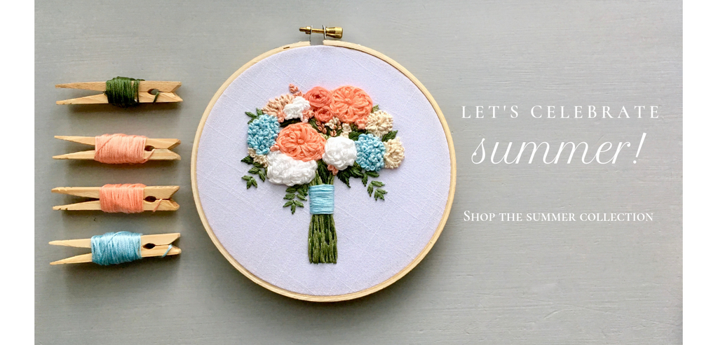 Summer Florals by And Other Adventures Embroidery Co