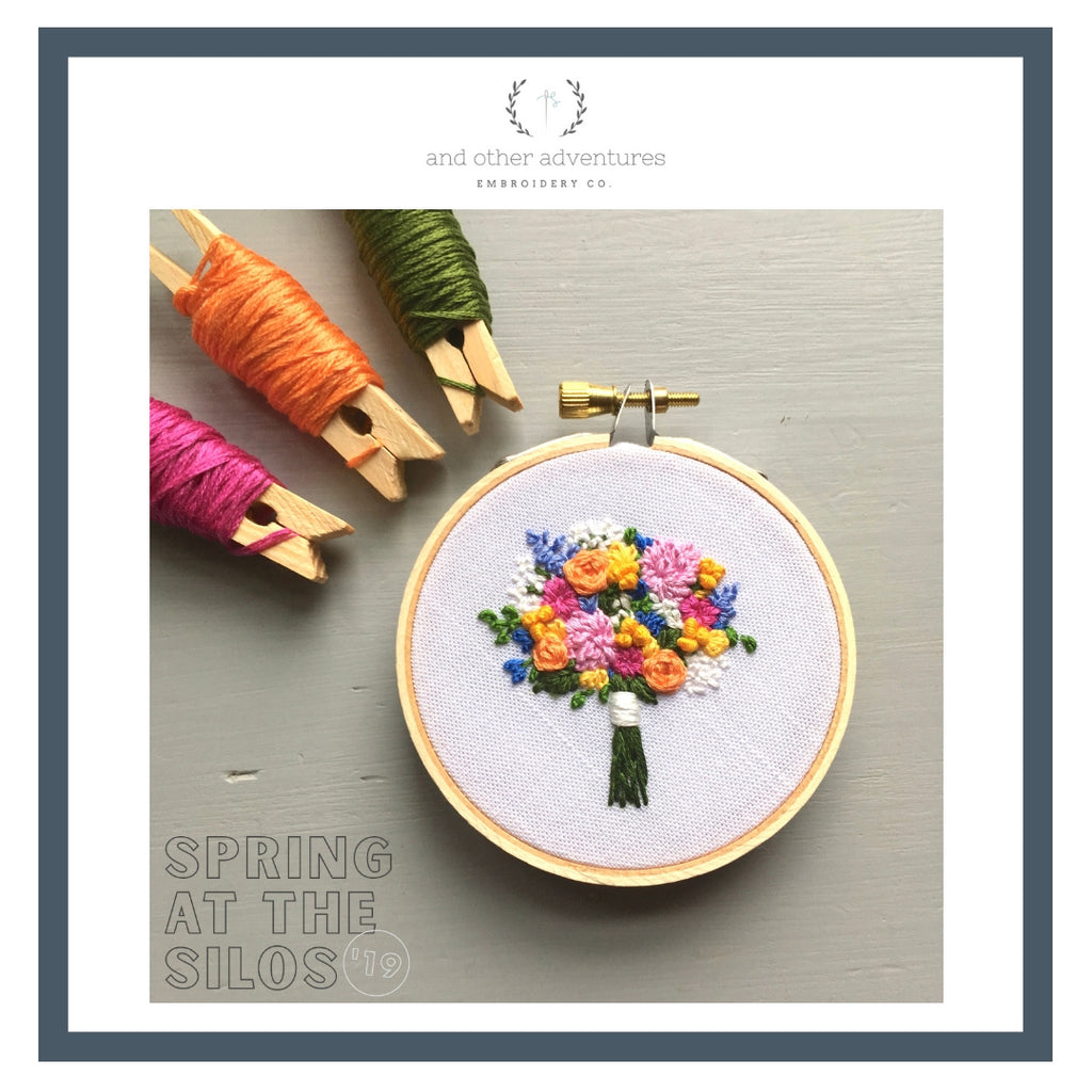 Magnolia Spring At The Silos And Other Adventures Embroidery Co
