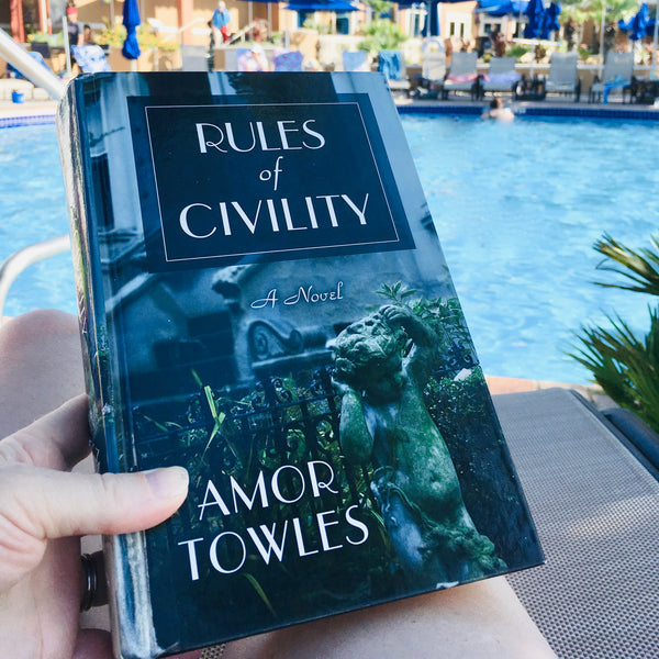 The Rules of Civility - Summer Reading List by And Other Adventures Embroidery Co