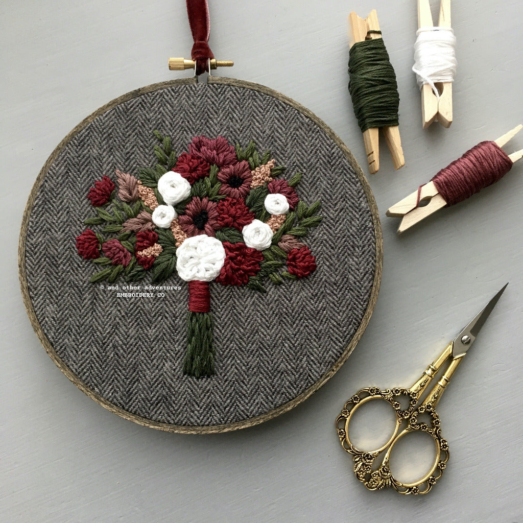 Hand Embroidered Christmas Gift | And Other Adventures Embroidery Co