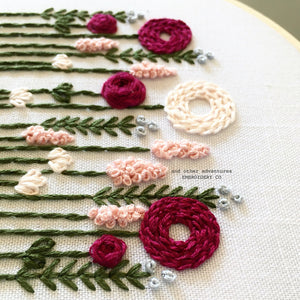 DIY Hand Embroidery Craft Project by And Other Adventures Embroidery Co