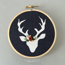 Handmade Christmas Ornament Embroidery by And Other Adventures Embroidery Co