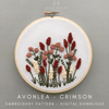Beginner Embroidery Pattern - Avonlea | And Other Adventures Embroidery Co